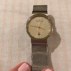Skagen watch stainless steel